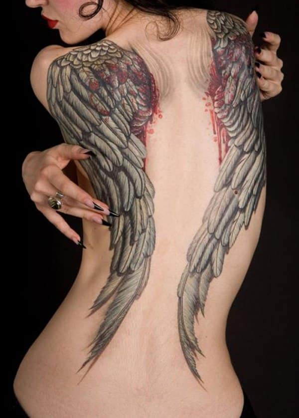 35 Insanely Gorgeous Wings Tattoos Designbump