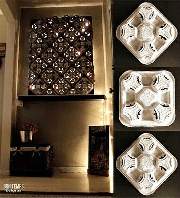 Cup Holder Wall Decor