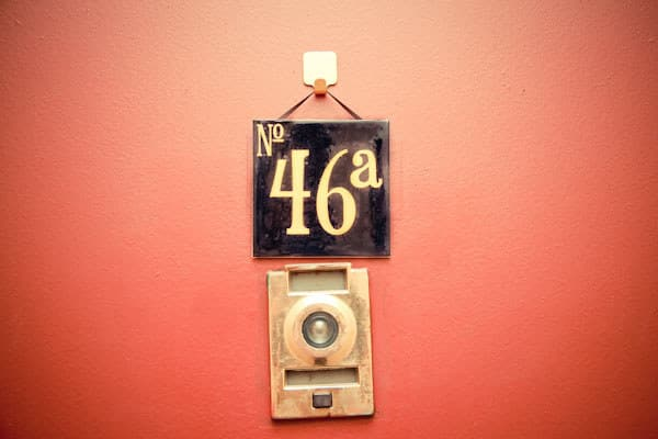Apartment Door Number