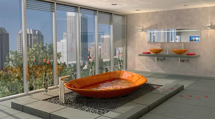 20 Wooden Bathtubs That Are Simply Stunning Designbump