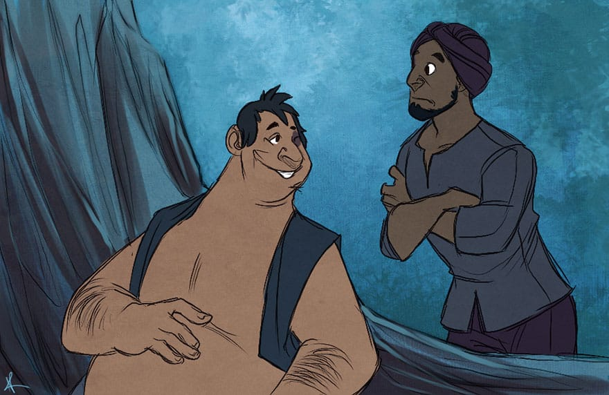 What If Disney Animals Looked Like Humans Designbump