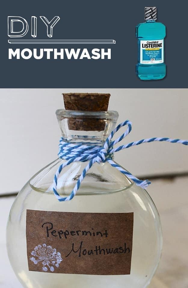 DIY Mouthwash