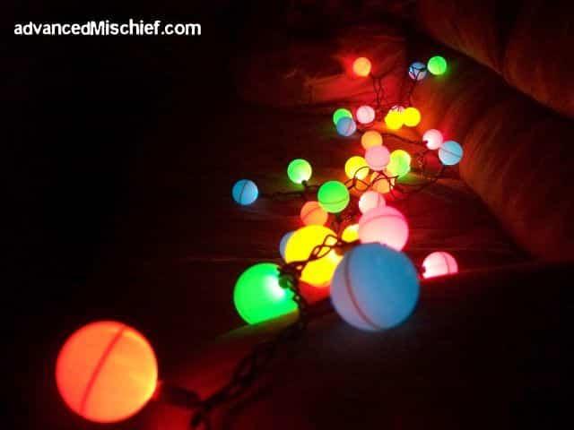 led ping pong lights