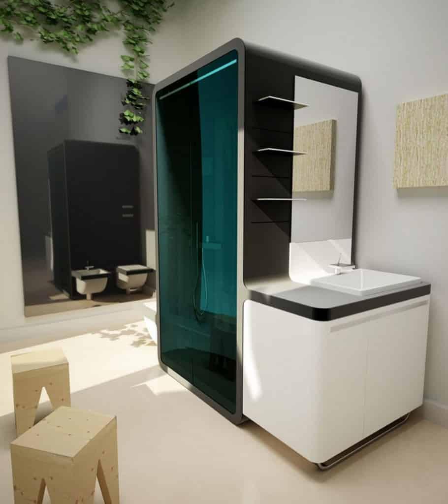 12 Clever Modern Bathroom Shower Ideas -DesignBump