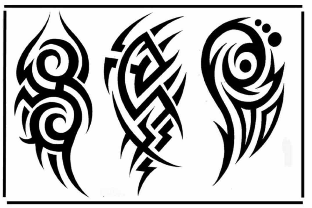 Tribal Patterns Tattoo: 28 Insanely Cool Tribal Tattoos For Men -DesignBump