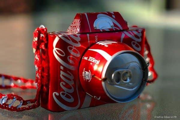 DIY soda cans