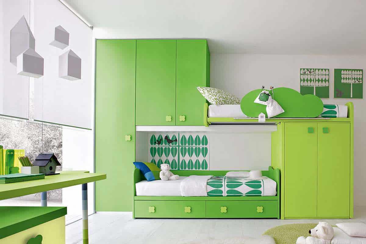 wonderfull kids bedroom furniture ideas   21 Modern Kids Furniture Ideas & Designs -DesignBump