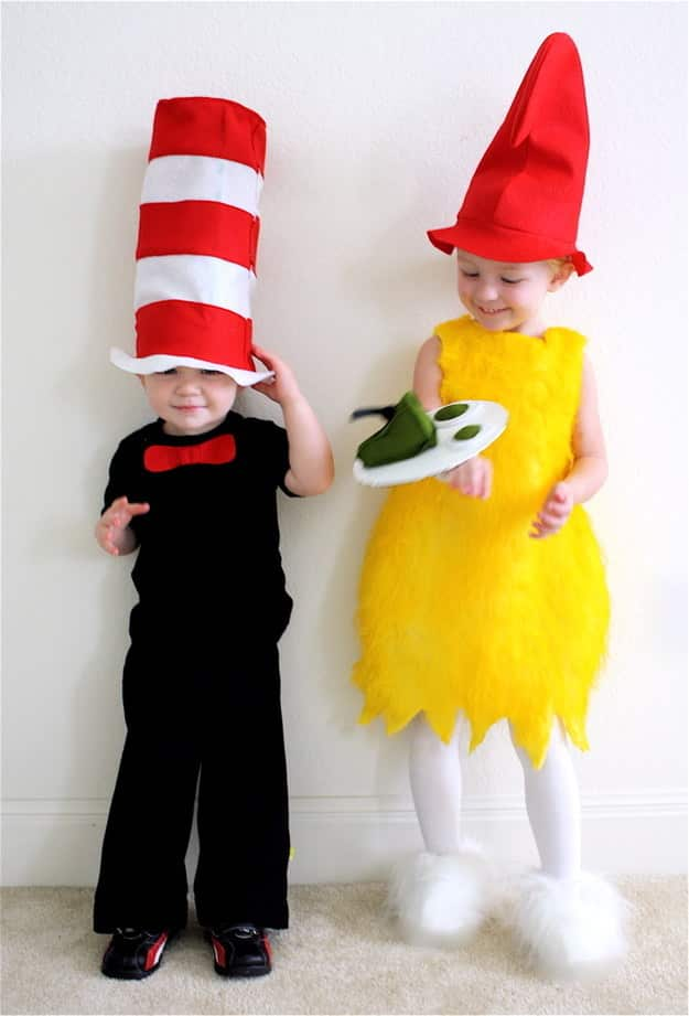 The Cat and Sam from Dr. Seuss's The Cat in the Hat and Green Eggs and Ham