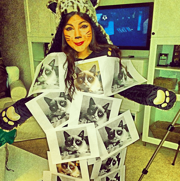 A more interested take on the cat lady: meet 'copy cat lady.'
