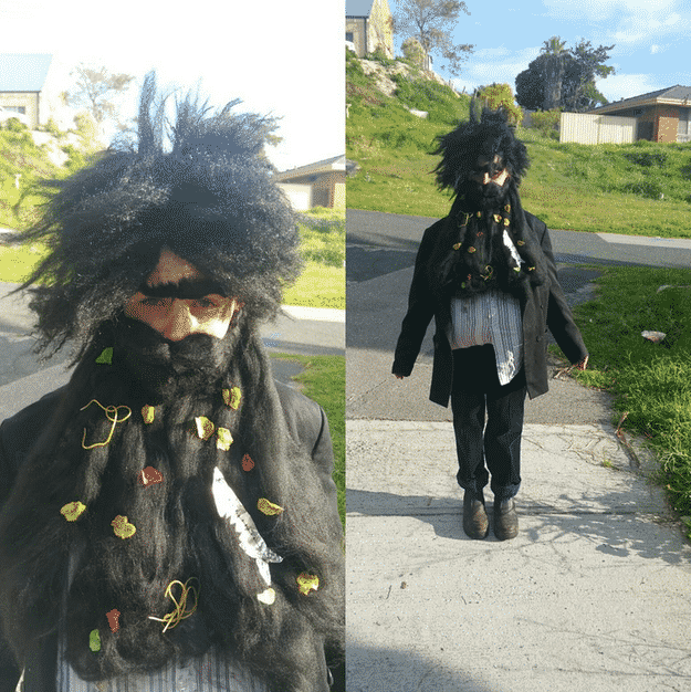 Mr. Twit from Roald Dahl and Quentin Blake's The Twits