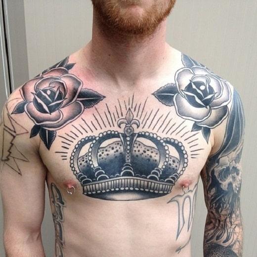 37 Brilliant Crown Tattoo Ideas -DesignBump