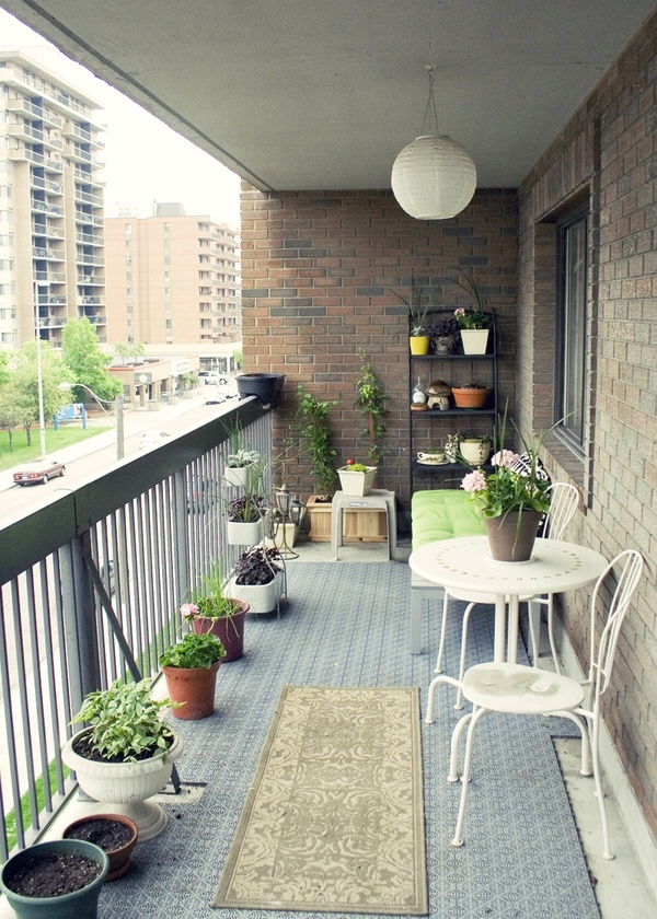 50 Clever Small Balcony Decorating Ideas Designbump