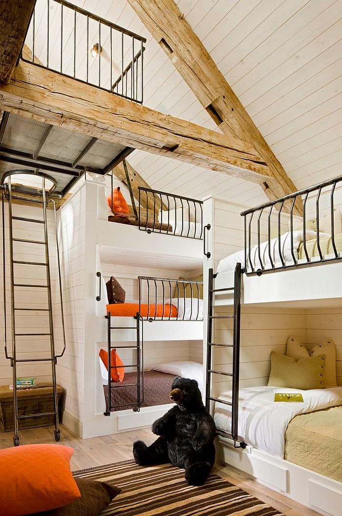 Rustic Kids Bedrooms 20 Creative Cozy Design Ideas: 20 Rustic Bedroom Designs, Top Rustic Living Spaces