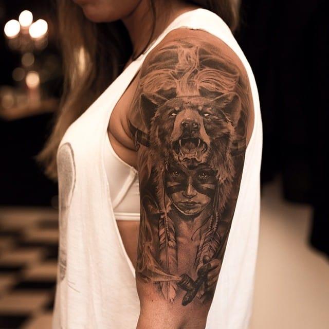 50 Hyper Realistic Sleeve Tattoos By Niki Norberg Designbump