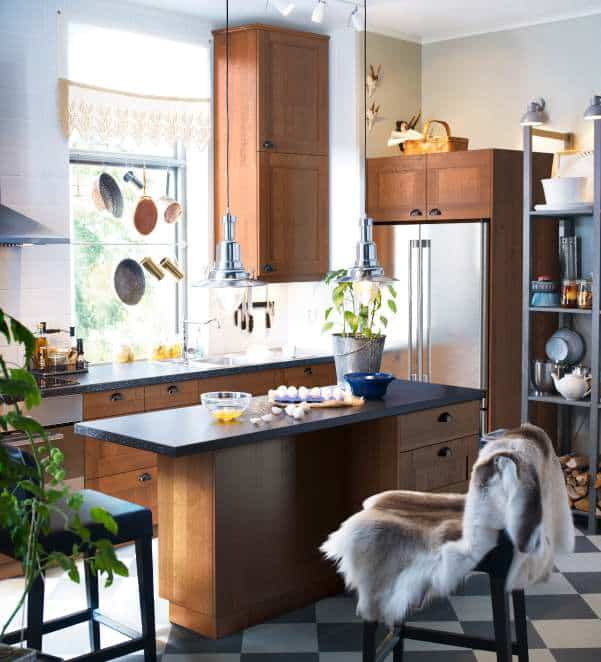 30 Amazing Design Ideas For Small Kitchens: 24 Amazing Small Kitchen Design Ideas -DesignBump