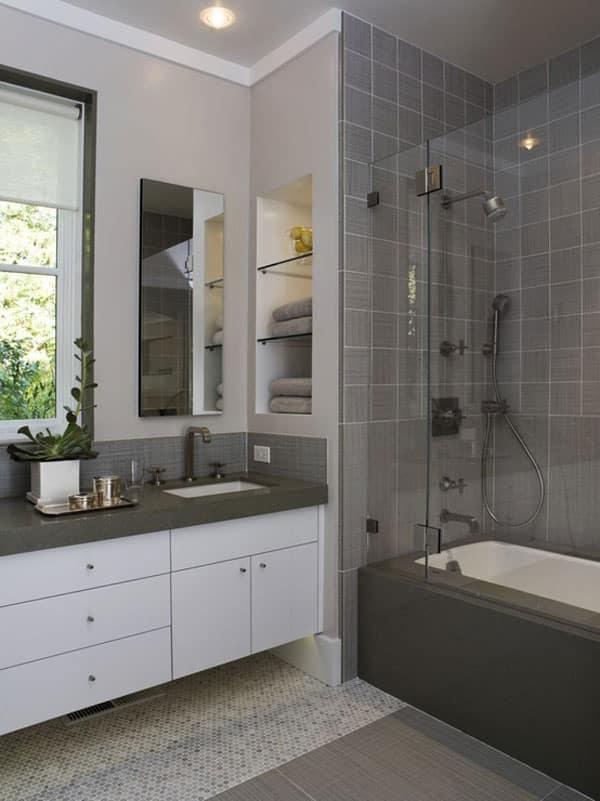 Stylish Small Bathroom Design Ideas DesignBump - Simple bathroom remodel ideas for small bathroom ideas