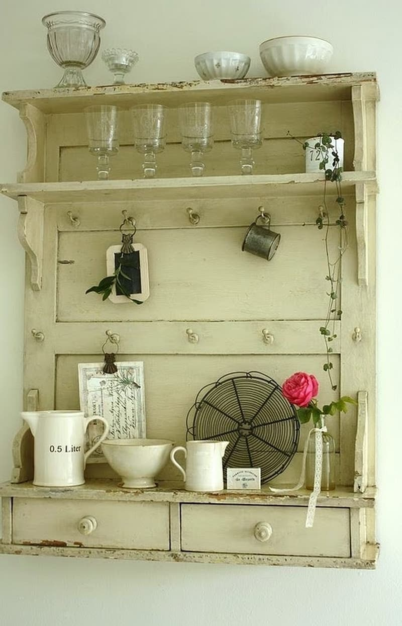 30 Ways To Make Your Home Pinterest Perfect: 25 Genius Ways To Reuse Old Doors And Windows -DesignBump