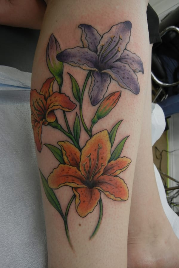 Beautiful Flower Tattoos: 60 Gorgeous Flower Tattoo Ideas -DesignBump