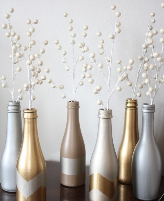 diy home decor ideas with upcycle bottles - Diy Home Decor Accessories