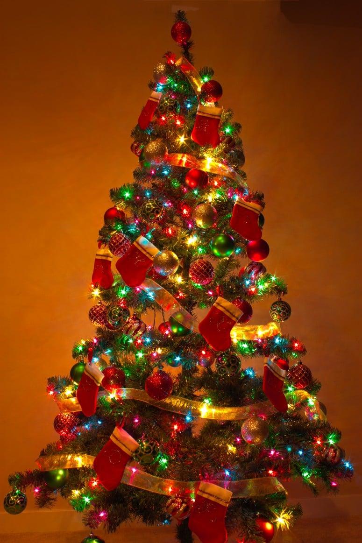 Christmas Tree Decorating Tips Cool Christmas Tree Designs Designbump