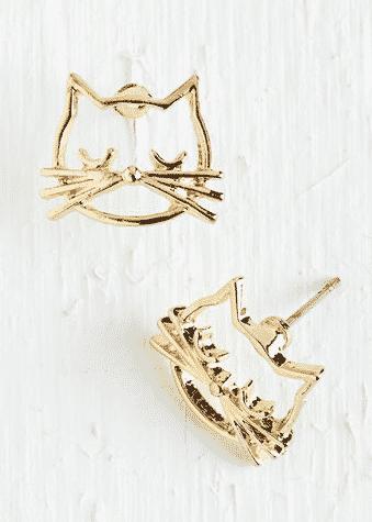 Cool Cat Earrings