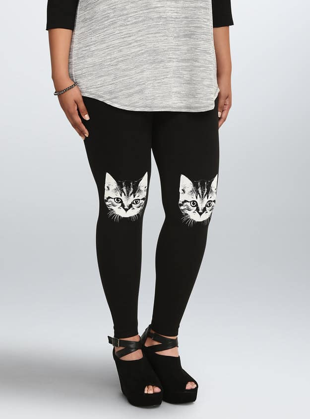 Cat Design Leggings