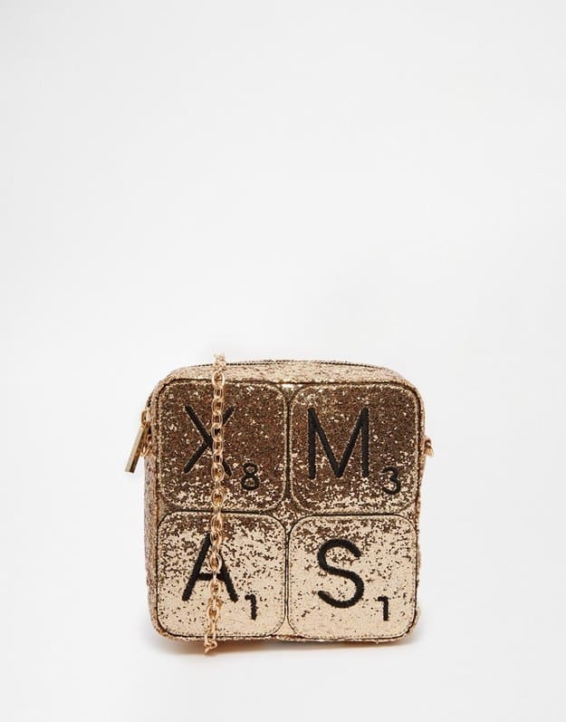 Scrabble Themed Purse
