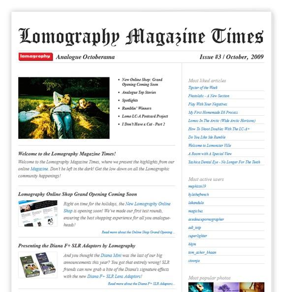 Magazine Newsletter Design