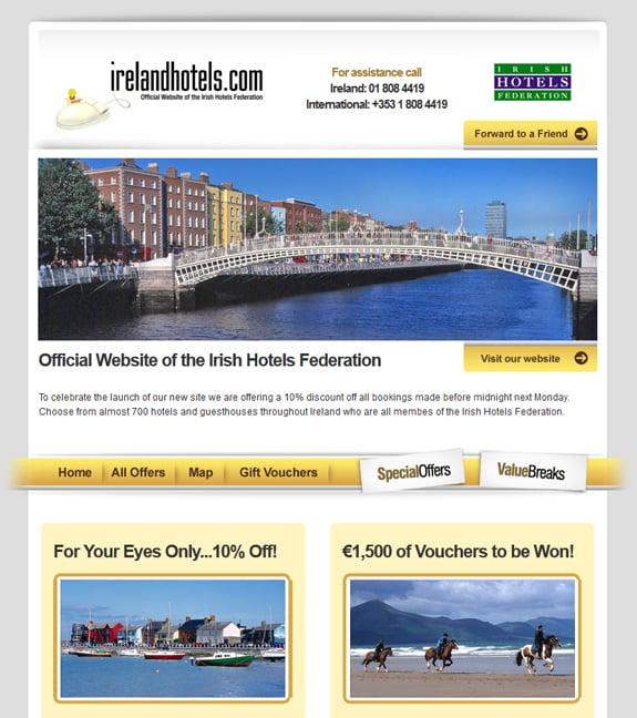 Hotel Newsletter Designs