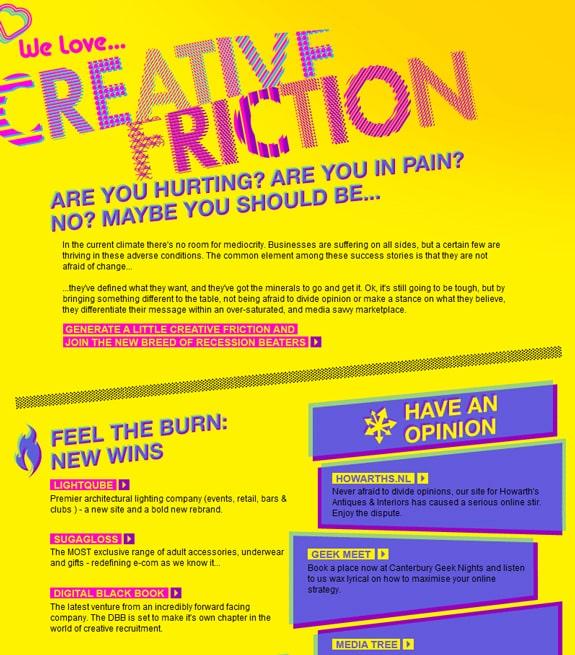 Yellow Newsletter Design