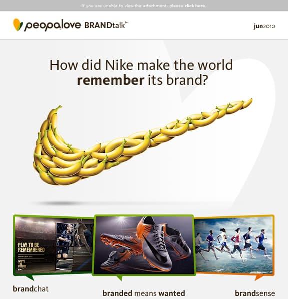 Nike Newsletter Design