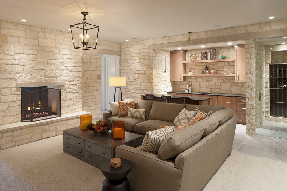30 Cool Ways to Decorate Your Basement - home basement ideas