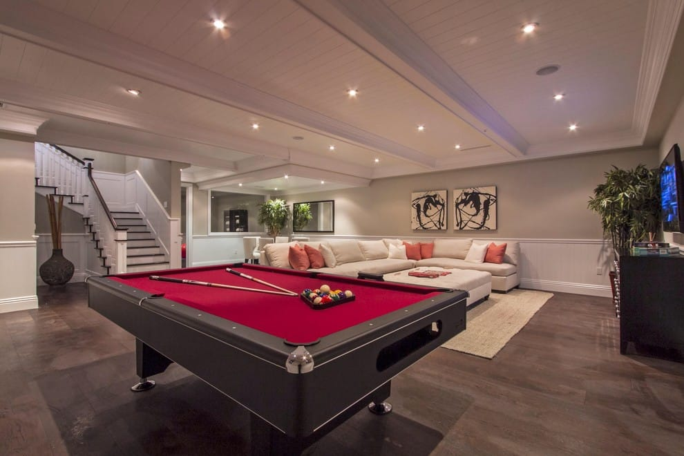 30 Cool Ways to Decorate Your Basement