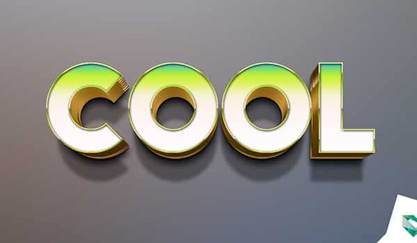Cool Text Effect Photoshop