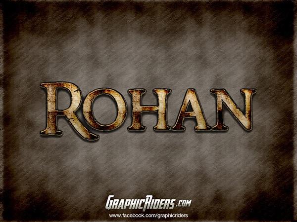 Fantasy Style Rohan