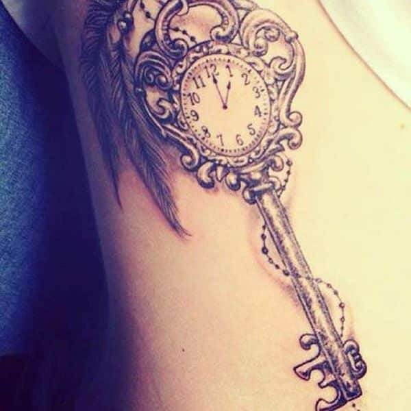 38 Inspiring Lock And Key Tattoos Designbump