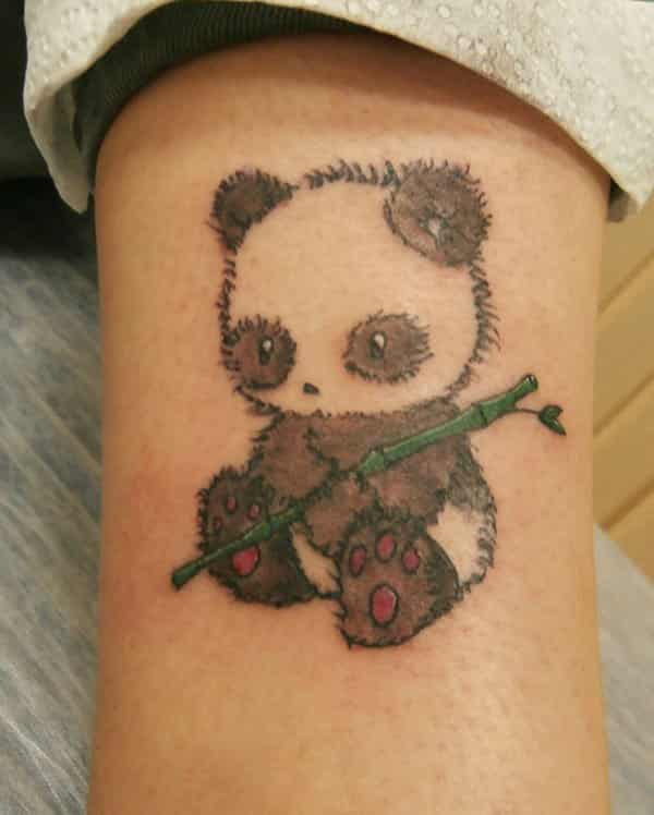 Cute Panda Tattoos