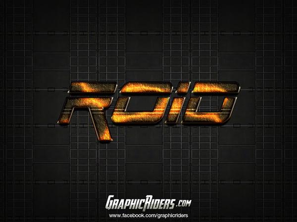 Sci-fi style – Roid