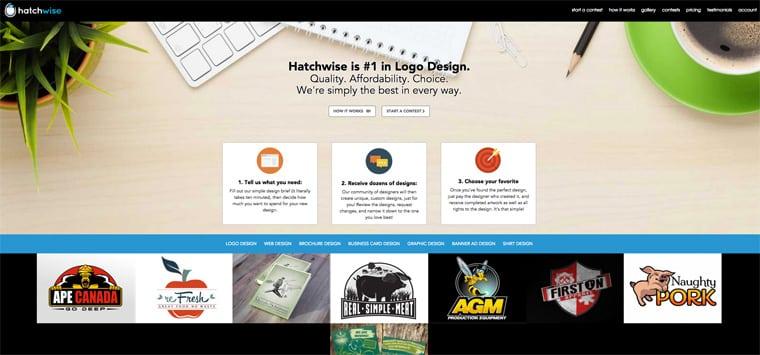 Hatchwise Logo Maker Service