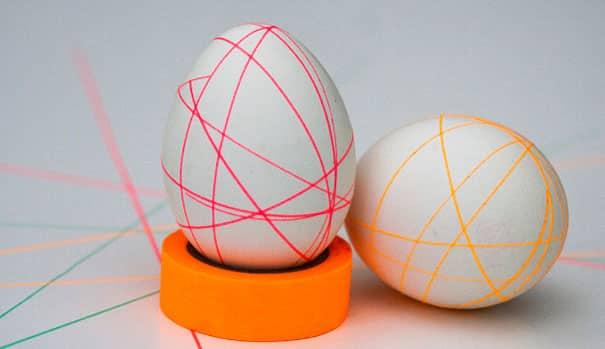 Masking Taped Eggs