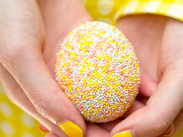 Sprinkled Egg Designs