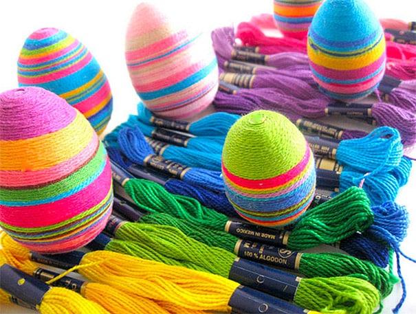 Threaded Eggs