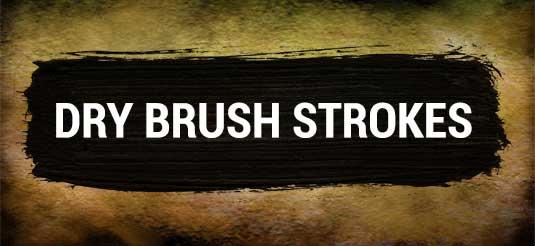 free Adobe Photoshop brushes - Dry Brushes