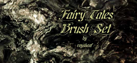 free Adobe Photoshop brushes - Fairy Tales Brushes