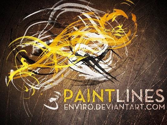 Paint Lines Brush Set