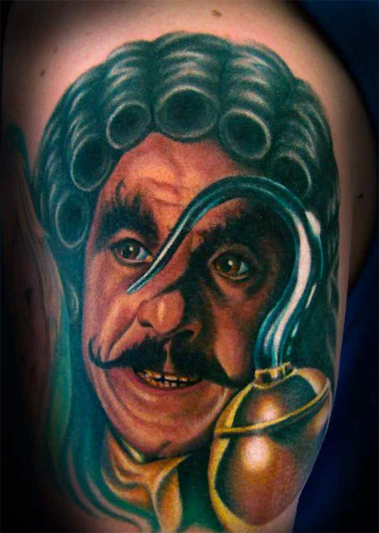 Captain Hook Pirate Tattoo