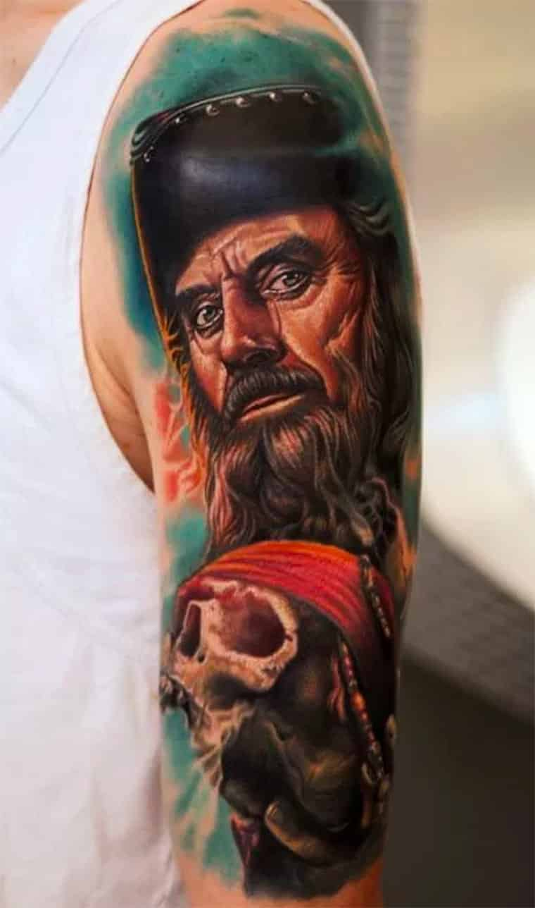 Amazing Pirate Tattoo Designs