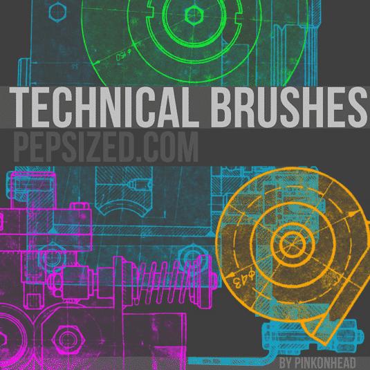 Technical Brush Set