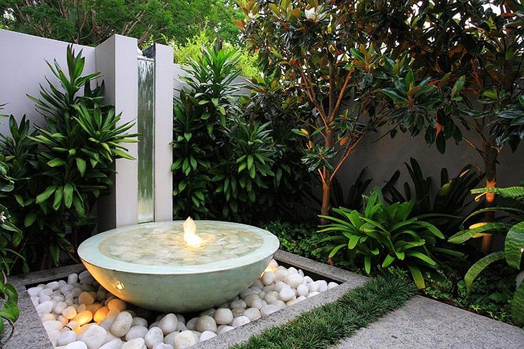 Contemporary water features