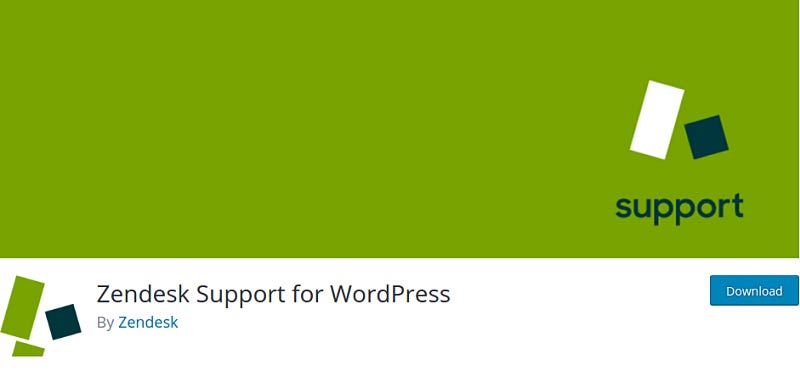 Zendesk Support for WordPress